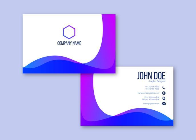 Creative Business Card Vectors