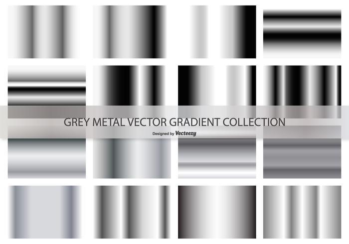 Grey Gradient Vector Collection